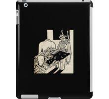 Machine man iPad Case/Skin