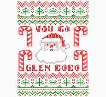 You Go Glen Coco Funny Ugly Christmas Sweater Men's Baseball ¾ T-Shirt