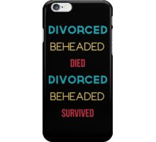 The Six Wives of Henry VIII iPhone Case/Skin