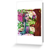 Tahlia the Tree Fairy Greeting Card