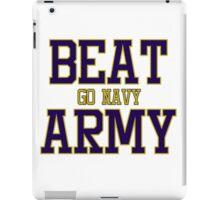 Go Navy Beat Army iPad Case/Skin