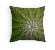 Spiral Flower Throw Pillow