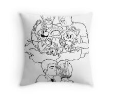 Ride and Die Throw Pillow