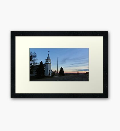 Highway to Heaven Framed Print