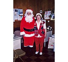 My Favorite Santa and Mrs.Claus Photographic Print
