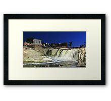 Fall at the Falls Framed Print