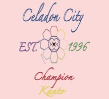 Celadon City Champion: Pokemon Kanto Baby Tee