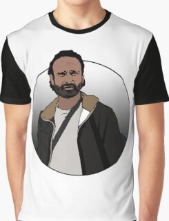 Rick Grimes - The Walking Dead Graphic T-Shirt