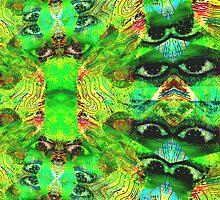 Lizard Eyes by K-Town-Art
