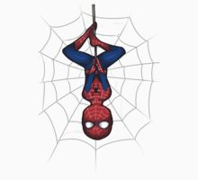Upside Down Spidey by PleaseBuy