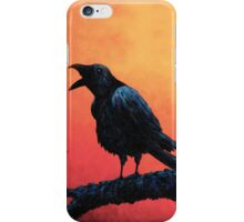Wise Crow Speaks iPhone Case/Skin