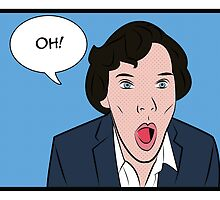 Sherlock Pop Art by antisocialite
