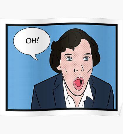 Sherlock Pop Art Poster