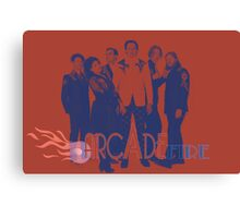 Arcade Fire Canvas Print