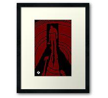 Axe the man Framed Print