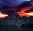 Sunset at Kalapana 2 by Alex Preiss