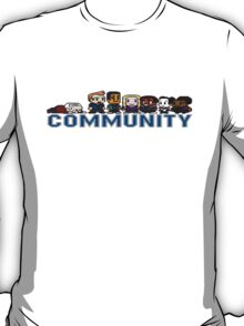 Community 8-bit World T-Shirt