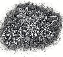 Inkie Flora Joy by TwistyrobDesign