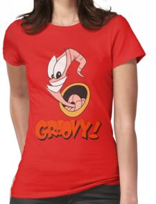 Earthworm Jim v2 Womens Fitted T-Shirt