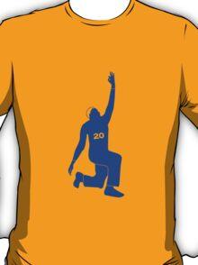 Kent Bazemore shirt, Windmill Celebration tshirt, NBA Golden State Warriors t-shirt, basketball apparel - Blue T-Shirt