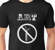 Art Not Bombs Unisex T-Shirt