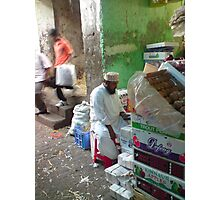 bazaar stall Photographic Print