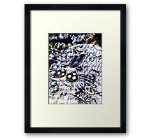Skater trippin Framed Print