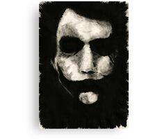 Joker Inked Canvas Print
