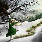 Idunn and Loki: Midwinter Meander by vikingsbooksetc