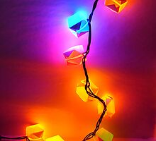 Christmas Lights by Julie  Savard