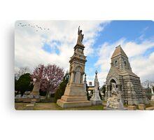 Historic Oakland Cemetery, Atlanta, Ga Canvas Print