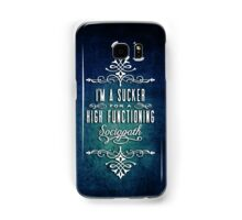 High Functioning Sociopath Samsung Galaxy Case/Skin