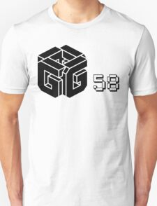 Glow 58 (black logo) T-Shirt