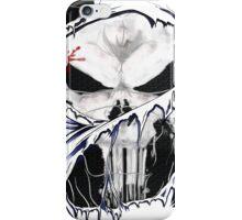torn skull tee iPhone Case/Skin