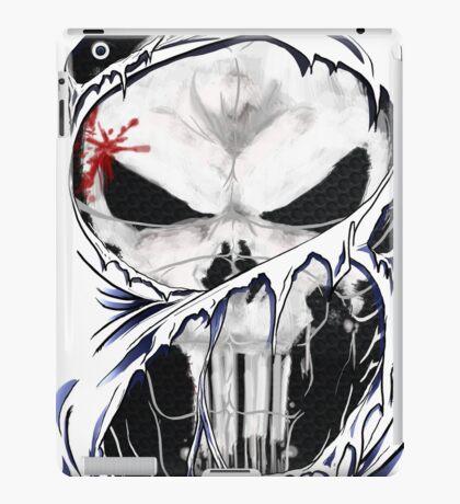 torn skull tee iPad Case/Skin