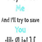 I love you  by elenastrawn25