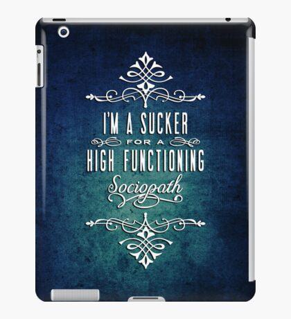 High Functioning Sociopath iPad Case/Skin