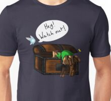 Hey! Watch Out! Unisex T-Shirt