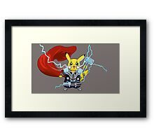 By The Power of Thorchu! Framed Print