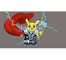 By The Power of Thorchu! Photographic Print