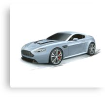 Aston Martin V12 Vantage Canvas Print