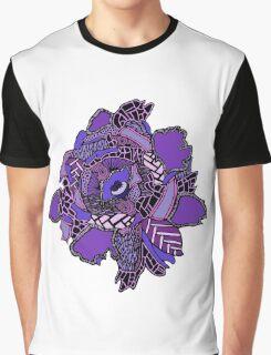 Purple Hibiscus  Graphic T-Shirt