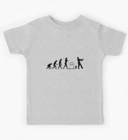 Zombie Evolution Kids Tee