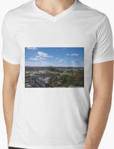 Ballarat overshadowed Mens V-Neck T-Shirt