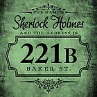 The name's Sherlock Holmes by starrygazer