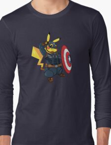 Captain Americhu Long Sleeve T-Shirt