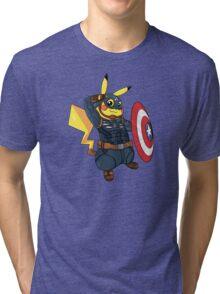Captain Americhu Tri-blend T-Shirt