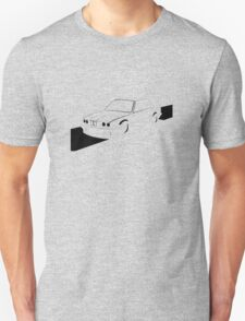 E30 Retro - Black Print Unisex T-Shirt