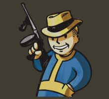 Fallout 3 Vault Boy Gangster/Gambler by ----User