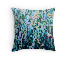 Blossom & Lorikeets Throw Pillow